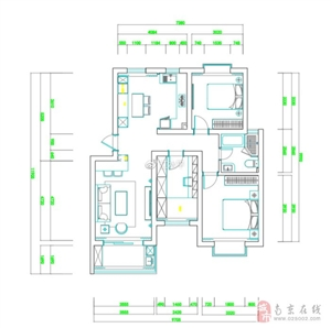 南京简约美式装修风格,这样的厨房真好