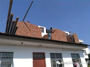 零容忍!湖口城管依法拆除200平米的2处违章建筑!