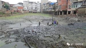 即将大变样!湖口这里进行河道清淤,是你家吗?