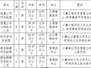 修水县投资集团有限公司关于公开招聘专业技术人员的公告