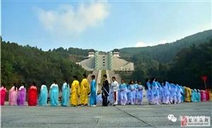 2018年华夏母亲嫘祖故里酬蚕节民间祭祖仪式在盐举行