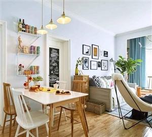 【闵鸿装饰】极致利用空间,六十平小两变身北欧温馨之家