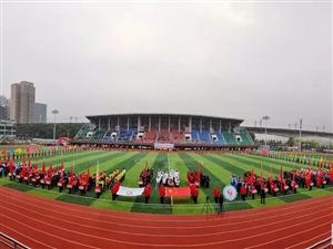 2018年澳门威尼斯人赌场平台县中小学生田径运动会开幕
