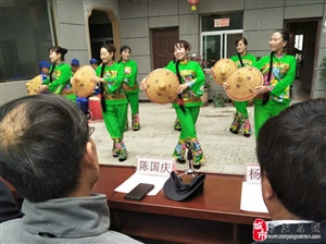 旬阳县城关镇老城社区慈善老年大学挂牌仪式