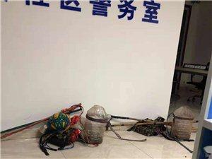 广安协兴:协兴警方查处一起非法电鱼事件