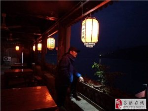 中国主页皇冠:晚上的碛口古镇,美(图)