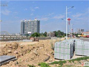 揭西县榕江南河两岸整治第三期工程最新施工进展