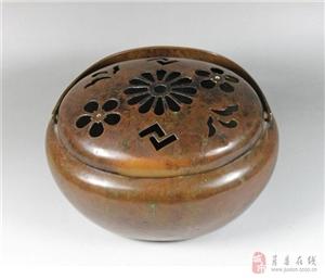 一件日本铜手炉
