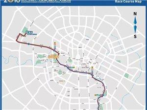 注意!2018成都国际马拉松本周六开跑,这些道路需绕行