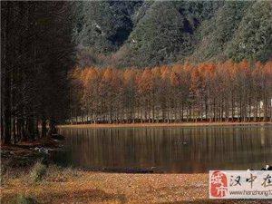 初冬的南郑龙池  比仙境还仙境