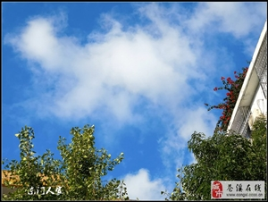 【苍溪】蓝天白云美苍城【图】