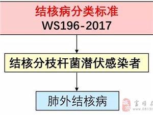 一图看懂结核病分类标准