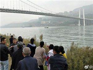 重庆万州公交车坠江现场声呐图曝光,坠江车辆位于水下约68米处