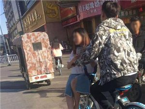 真雅气!漯河交通路与人民交叉口,这俩小情侣要火!