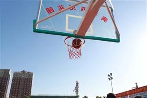 """昨天,潢川县2018年第四届""""奥林匹克花园杯""""男子篮球赛圆满开幕!"""