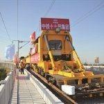 连淮扬镇铁路开始铺轨,两年后南京到淮安连云港通高铁