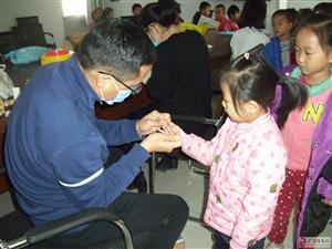 开发区卫生院赴社区幼儿园进行健康查体