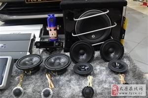 晋源汽车音响改装 太原朗声大众帕萨特改装德国RS皇太子三分频