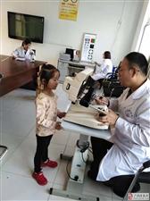 2018世界投注网经济开发区社区幼儿园开展视力测查活动