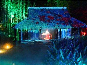无锡灵山小镇夜景