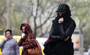 中东部气温