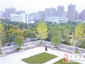 宁乡城区处处呈现美丽的画面