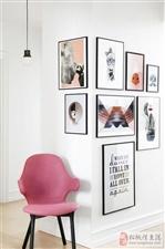 营造更浓烈的室内风格的背景装饰画