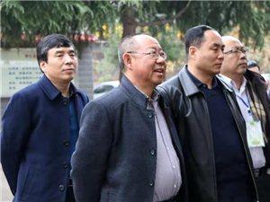 国务院教育督导委员会莅临合阳县城关中学视察工作