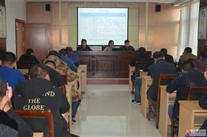 广饶县公安局李鹊派出所开展社区矫正人员学习教育活动