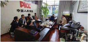 中国人民保险抚州市分公司总经理吴志华赴乐安县调研脱贫攻坚工作