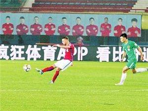 11月7日晚,河南建业足球队在主场4∶0拿下贵州恒丰,提前一轮保级成功