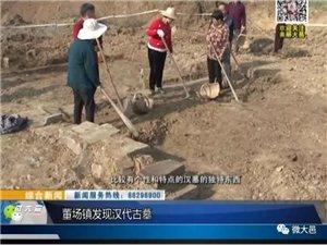 惊!董场镇发现汉代古墓,即将见分晓