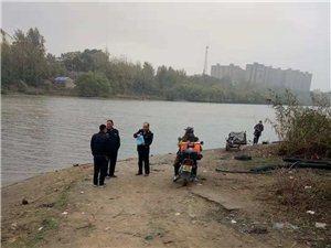 县水产局联合县西城派出所对沿岗河进行禁钓管理