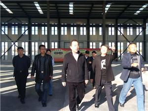 镇江新区在合阳挂职领导莅临经开区考察指导工作