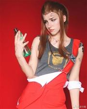 【趣图分享】俄罗斯美女Coser《守望先锋》布丽吉塔Cos美图