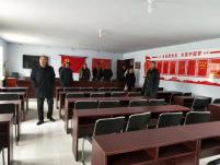 黑城子示范区考察组参观考察哈毕日嘎镇