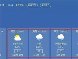 未来3天,吕梁局部地区将迎来中到大雪