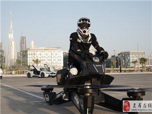 �w行摩托升空5米 不是只有迪拜警察可以��I