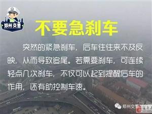 微提醒   雾天驾车请注意,牢记这些远离事故