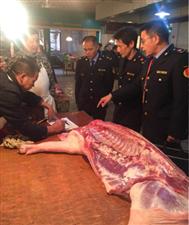 万年县全力处置非洲猪瘟疫情