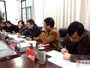 安庆经济发展第八督导组在桐召开工作推进会 李玉萍主持