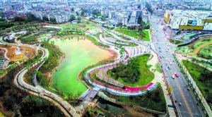 青山绿水;龙泉驿构筑公园城市生态底色