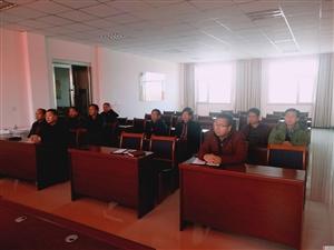 倪家营水管所组织集中观看《榜样3》专题节目