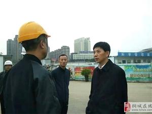 刘中汉督查重点工程建设