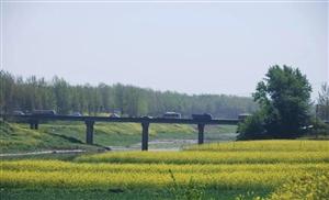 澳门威尼斯人平台县张庙大桥维修期间绕行路线附图