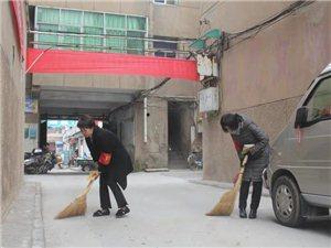 """合阳县委办开展""""党员进社区  平安进万家""""主题活动"""