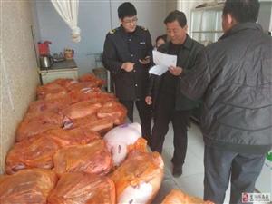 甘州区花寨乡食药畜牧联动推动非洲猪瘟防控工作