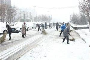 以雪为令|沿街单位和商户不及时清扫门前积雪要吃罚单!