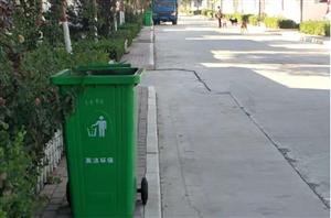 全民寻找:放置在村口的那只绿色垃圾桶....