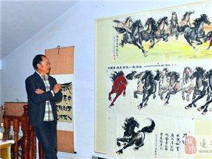闻朝:遂平本土画家走向国展之路